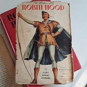 Vintage Adventures of Robin Hood First Edition